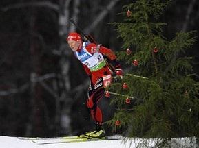 Остерсунд 2009: Бергер побеждает, Пидгрушная показывает лучший результат в карьере