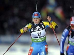 Тренеры остались довольны выступлениями украинских биатлонисток