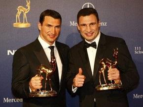Братья Кличко признаны самыми популярными спортсменами Германии
