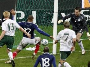 ЧС-2010: В Ірландії вимагають переграти матч з французами