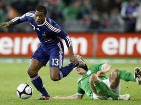 ЧМ-2010: Франция не смогла победить Ирландию, но прошла дальше