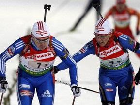 Російським біатлоністам заборонили спілкуватися з пресою
