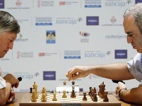 Шахматы: Матч Карпов-Каспаров перенесен на 2010 год