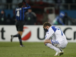Фотогалерея: Динамо - Интер. Упущенная победа