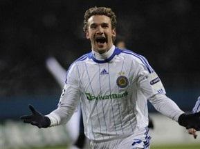 Андрей Шевченко забил 47-й гол в Лиге Чемпионов