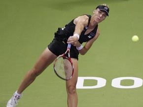 Доха WTA: Дементьева не смогла пробиться в полуфинал