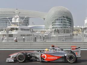Гран-прі Абу-Дабі: Хемілтон став кращим у першій практиці
