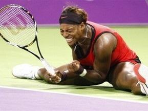 Доха WTA: Серена Уильямс победила свою сестру