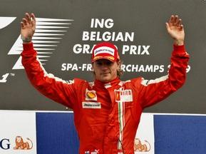 Райкконен - самый высокооплачиваемый гонщик сезона-2009