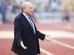 Блаттер будет баллотироваться четвертый раз на пост президента FIFA