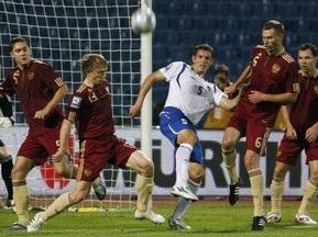 Российские болельщики устроили драку на матче в Баку