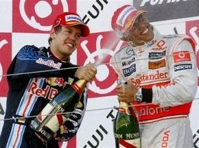 Букмекери: У Хемілтона і Феттеля рівні шанси на перемогу в Гран-прі Бразилії