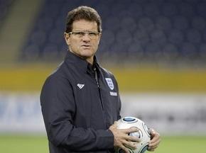 Капелло: Англия будет играть сильнейшим составом