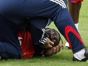 Форвард сборной Франции потерял сознание во время тренировки