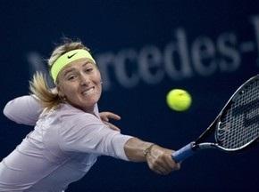 Пекин WTA: Шарапова не смогла пробиться в четвертьфинал