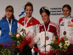 Ольга Харлан завоевала серебро Чемпионата Мира по фехтованию