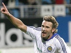 Шевченко сыграет в маске в матче с Барселоной