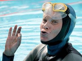 Россиянка установила мировой рекорд по нырянию без акваланга