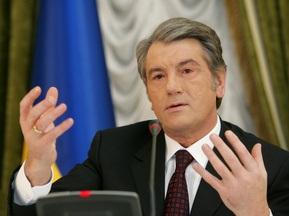 Ющенко: Меня не удовлетворяет уровень финансирования Евро-2012