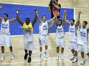 Греция завоевала бронзу Чемпионата Европы