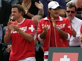Кубок Дэвиса: Итальянцы воспользовались отсутствием Федерера