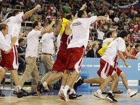Евробаскет-2009: Сборная Турции обыграла команду Сербии