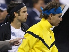 US Open-2009: Полуфинальный матч между Надалем и Гонсалесом прерван из-за дождя