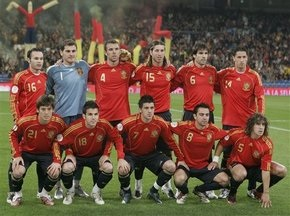 Букмекери пророкують перемогу збірної Іспанії на ЧС-2010