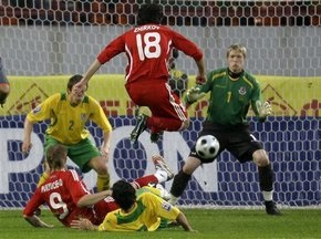 ЧМ-2010: Россия добывает трудную победу над Уэльсом