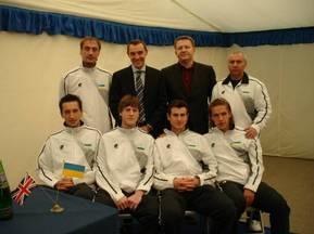 Кубок Дэвиса: Мужская сборная Украины начала подготовку к матчу с Бельгией