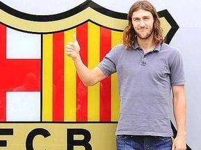 Чигринський офіційно став гравцем Барселони