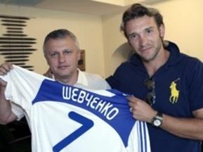 Шевченко: Я вернулся в родной клуб, чтобы радовать болельщиков