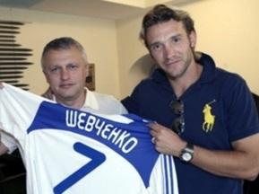 Динамо официально заявило о возвращении Шевченко