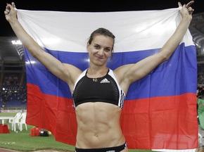 Исинбаева с рекордом возвращается на спортивный олимп