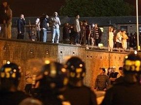 Футбольные фанаты устроили массовые беспорядки в Лондоне