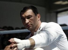 Владимир Кличко выйдет на ринг не раньше весны