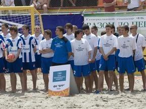 Пляжный футбол: Определились четвертьфиналисты Чемпионата Украины