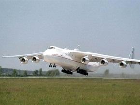 Украинский самолет попал в Книгу рекордов Гиннесса за перевозку самого тяжелого груза