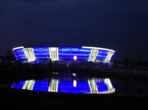 Фотогалерея: Донбасс-Арена. Последние приготовления