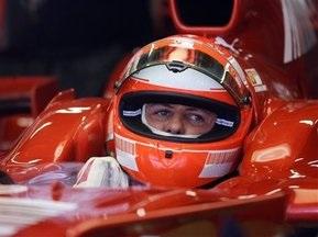 Wіllіams не дозволила Шумахеру проводити тести на боліді F60