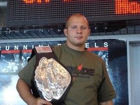 Источник: Федор Емельяненко подписал контракт с UFC