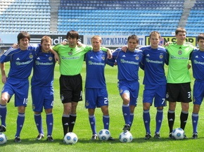 Фотогалерея: Динамо представило новую форму