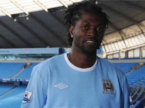 Адебайор перешел в Манчестер Сити