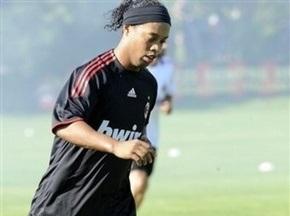 Милан недоволен формой Роналдиньо