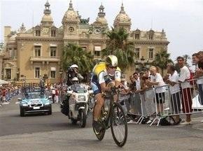 Тур де Франс-2009: Канчеллара выиграл индивидуальную разделку