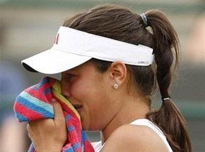 Wimbledon: Иванович не смогла доиграть матч против Венус Уильямс