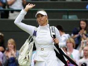 Wimbledon: Шарапова завершила виступи на турнірі