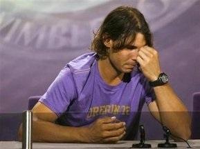 Надаль объяснил свой отказ от участия в Wimbledon-2009