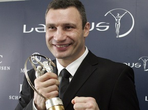 Виталию Кличко вручили спортивный Оскар