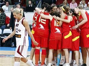Евробаскет-2009: Испанки побеждают Латвию